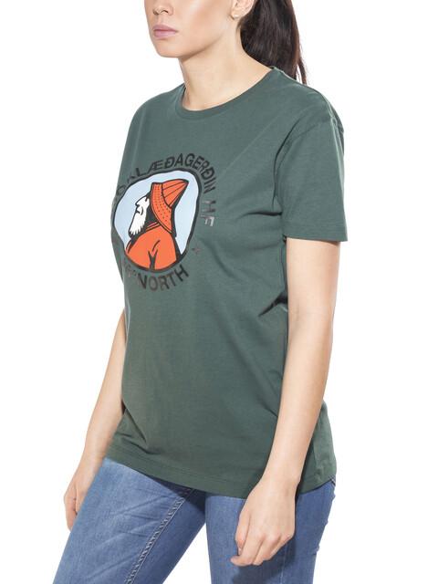 66° North Gola Organic Cotton T-Shirt Women Bottle Green